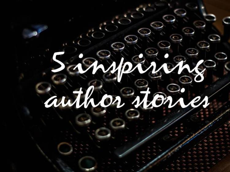 5 inspiring author stories