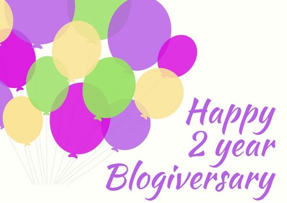 Happy2 year Blogiversary!