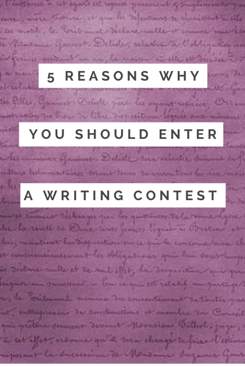 5 reasons why you should enter a writing contest