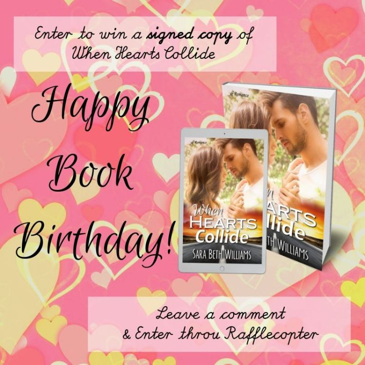 Book Birthday giveaway